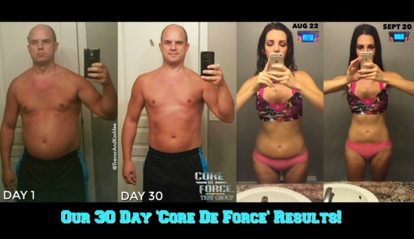 our-30-day-core-de-force-test-group-results